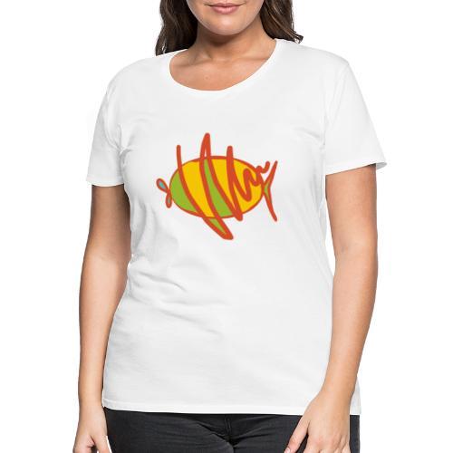 fish - Frauen Premium T-Shirt