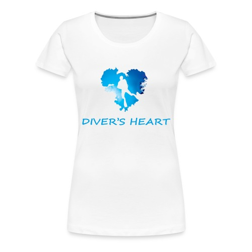 serce-png - Koszulka damska Premium