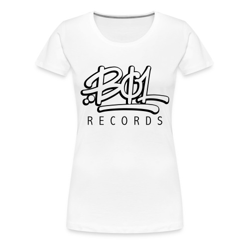 Bøl Records - Premium T-skjorte for kvinner