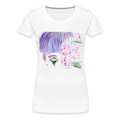 chiara_schizzo_2-png - Maglietta Premium da donna