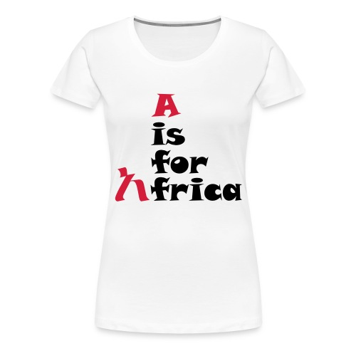 aisforafrica2 - Women's Premium T-Shirt