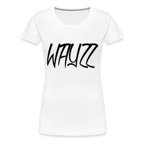 Wayzz White Tee - Women's Premium T-Shirt