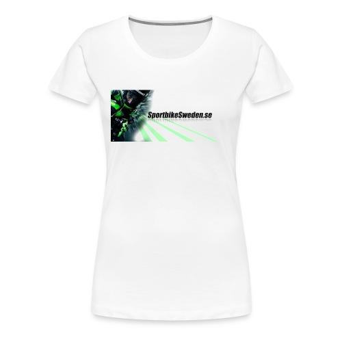 iPhone 6/6s skal med greppvänlig kant - Premium-T-shirt dam