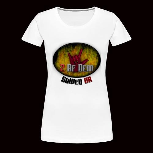 #2AfDem Collection ! - Dame premium T-shirt