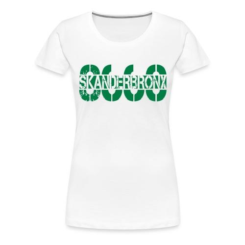 SKANDERBRONX - Dame premium T-shirt