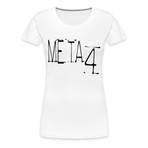 Meta4 Font Vector T-shirts - Women's Premium T-Shirt