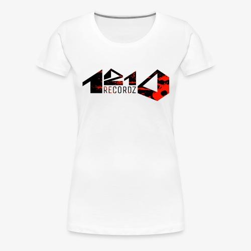 1210 Recordz Kaputzenpullover - Frauen Premium T-Shirt
