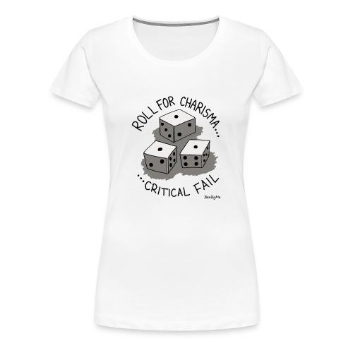 Critical Fail - Women's Premium T-Shirt