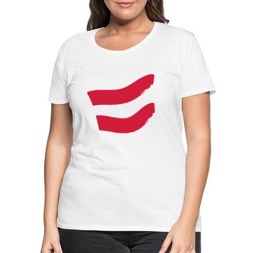 Strawanzer Blasmusik Flag - Frauen Premium T-Shirt