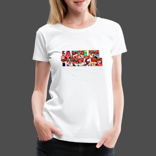 JannLeeTheDane Logo design - Dame premium T-shirt