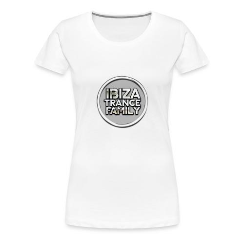 itf circle chrome trans png - Women's Premium T-Shirt