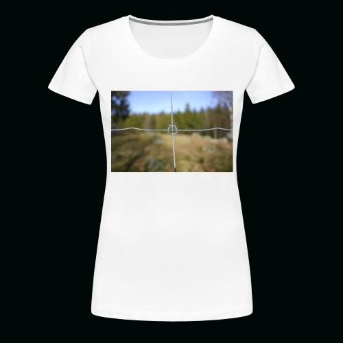 Stängsel - Premium-T-shirt dam