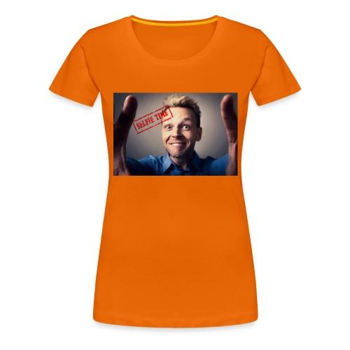 Selfy time - Women's Premium T-Shirt