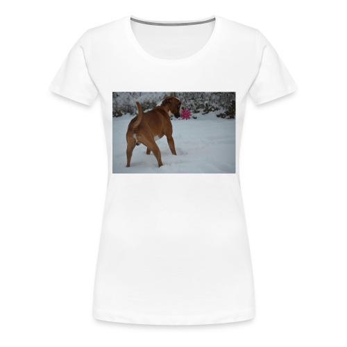 erster Schnee 158 JPG - Frauen Premium T-Shirt