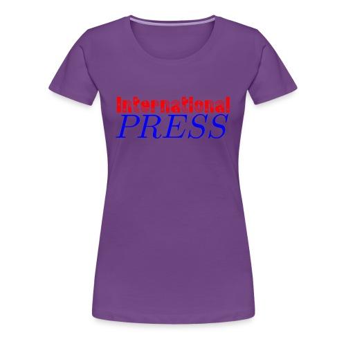int_press-png - Maglietta Premium da donna