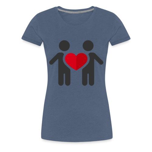 Chemise amour - T-shirt Premium Femme