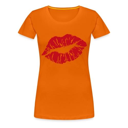 Bisous t-shirt - T-shirt Premium Femme