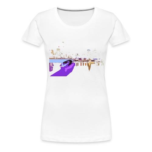 CITY NIGHT - Maglietta Premium da donna
