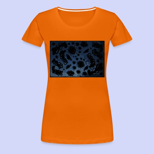 late night doodle - Female Shirt - Dame premium T-shirt