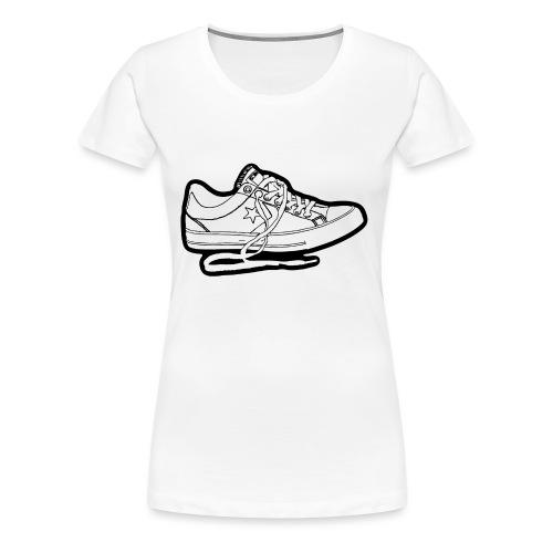 Sneaker - Premium-T-shirt dam