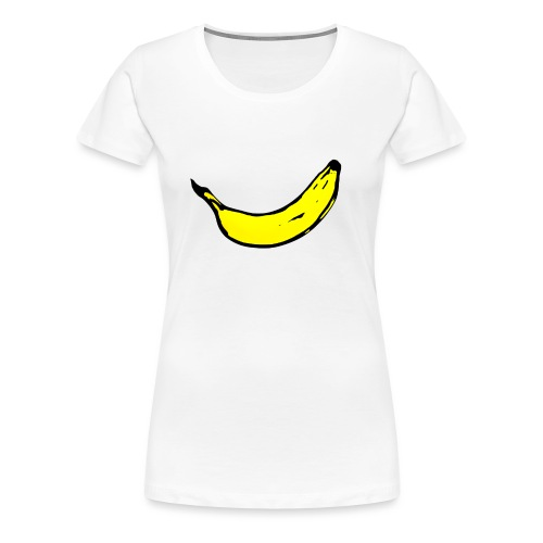 Banan 1 - Premium-T-shirt dam