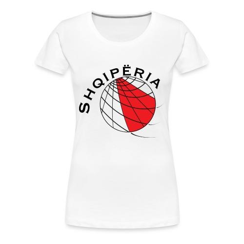 Albanien Fußballmotiv - Women's Premium T-Shirt