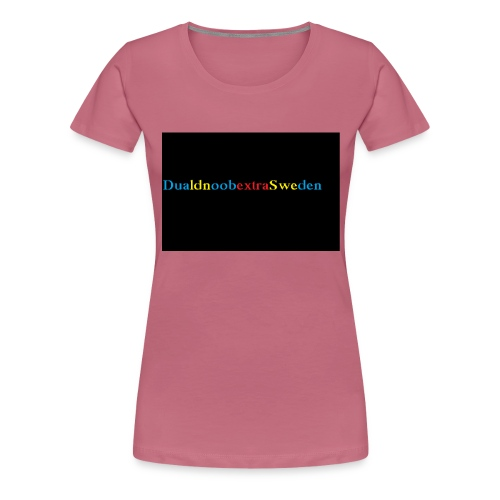 DualdnoobextraSwedens Mugg - Premium-T-shirt dam