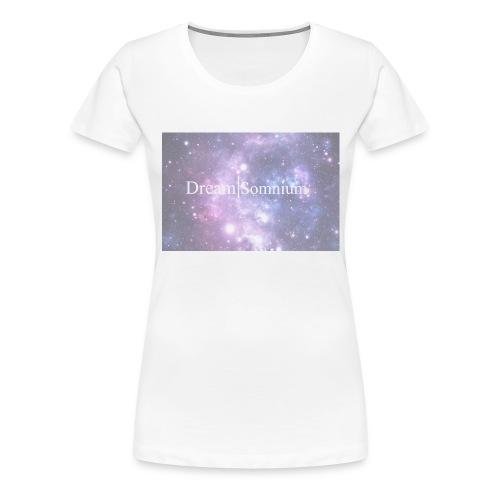 Somnium - Premium-T-shirt dam