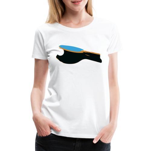 Tischtennisschläger - Frauen Premium T-Shirt