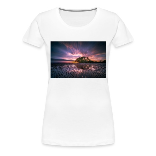Fin bild - Premium-T-shirt dam