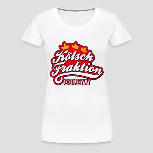 KölschFraktion CREW - Frauen Premium T-Shirt