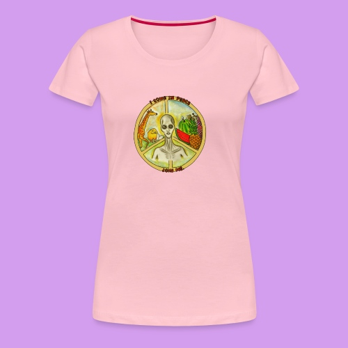 Katt Willow - Women's Premium T-Shirt