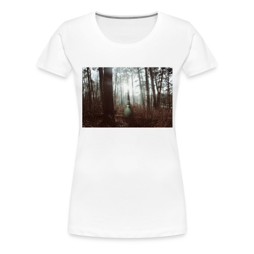Forest lights. - Premium-T-shirt dam