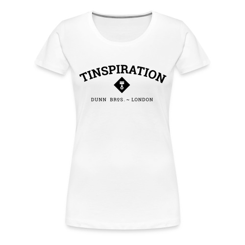 Tinspiration Logo - Women's Premium T-Shirt