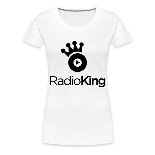 logo-Radioking-carré - T-shirt Premium Femme