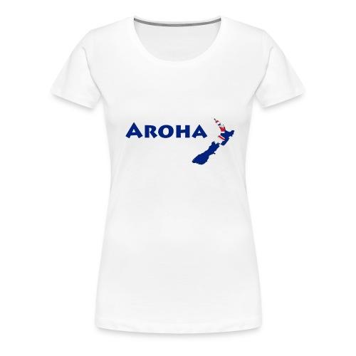Aroha - Sport - Frauen Premium T-Shirt