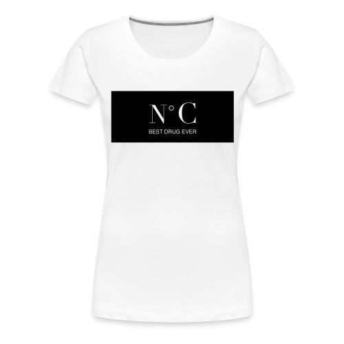 NUMERO C BEST DRUG EVER - T-shirt Premium Femme