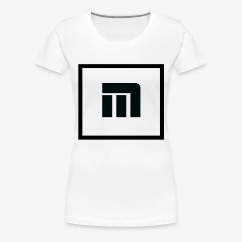 Logo Malecka Grand - T-shirt Premium Femme