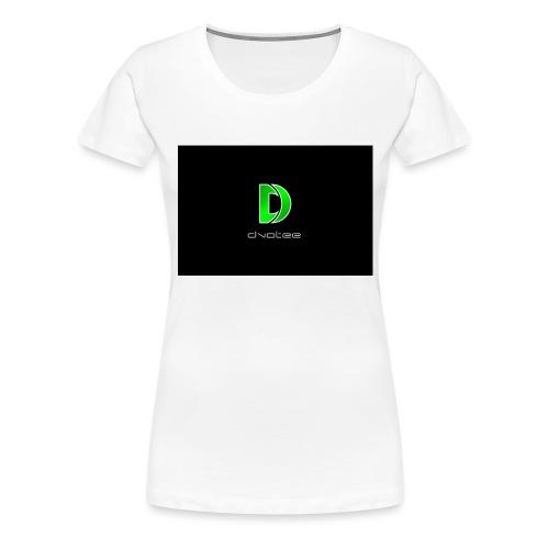 Dvotee-Modern_v2_1 - Women's Premium T-Shirt