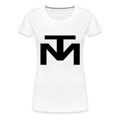 TM_logo_2018_clean - Frauen Premium T-Shirt