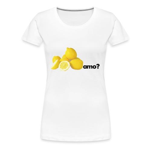 limoni_amo - Maglietta Premium da donna