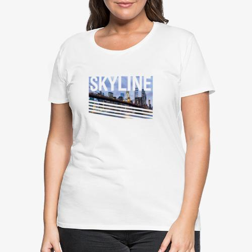 skyline - Camiseta premium mujer