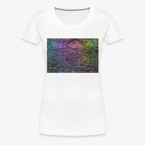 Regenbogenwand - Frauen Premium T-Shirt