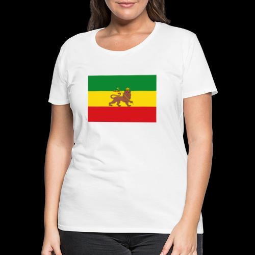 LION FLAG - Women's Premium T-Shirt