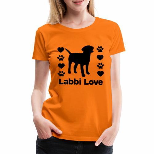 Labrador Labbi Hund - Frauen Premium T-Shirt