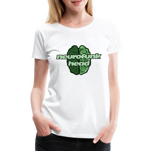 N4B Neurofunkhead Design - Maglietta Premium da donna