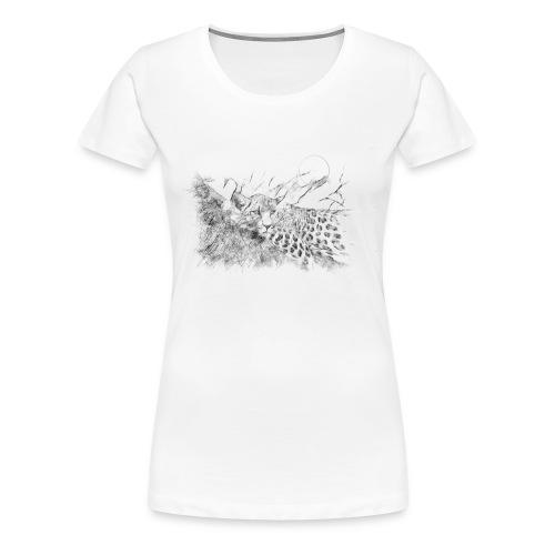 La panthère dans l'arbre - T-shirt Premium Femme