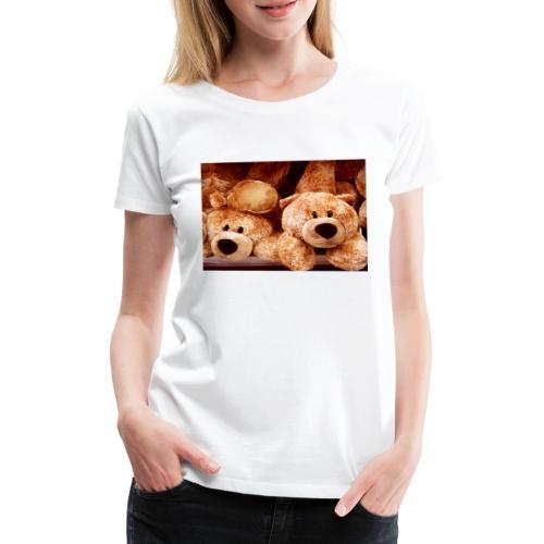 Glücksbären - Frauen Premium T-Shirt