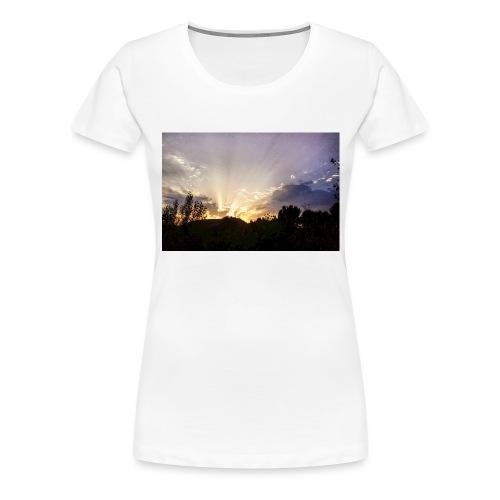 Sunset Ray 2 - T-shirt Premium Femme