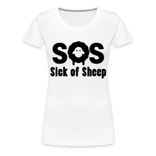 SOS - Women's Premium T-Shirt